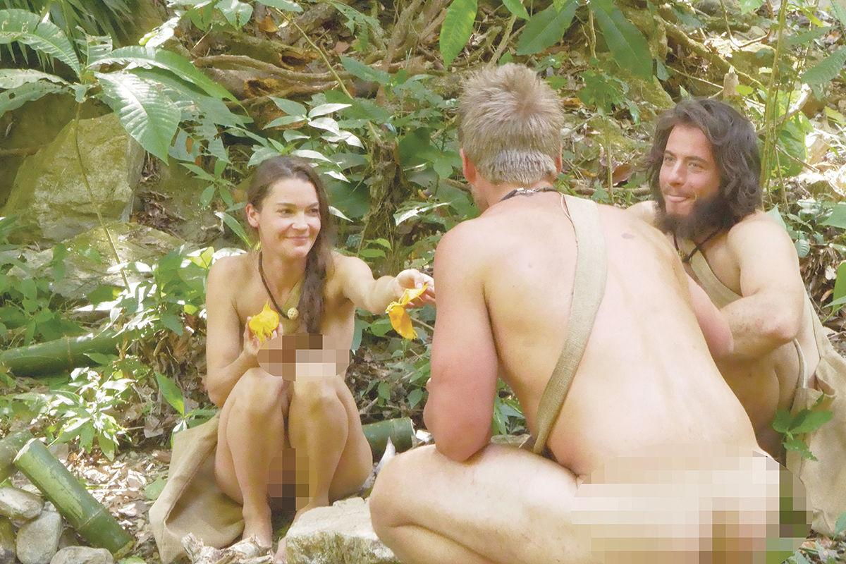 """Naked and Afraid"""