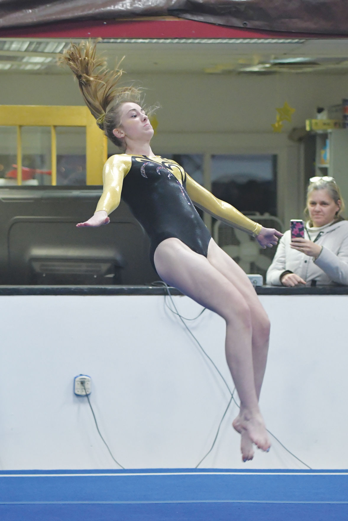 Harwood gymnastics meet: Lynn Russell