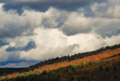 Fall foliage, October 2020, Stowe