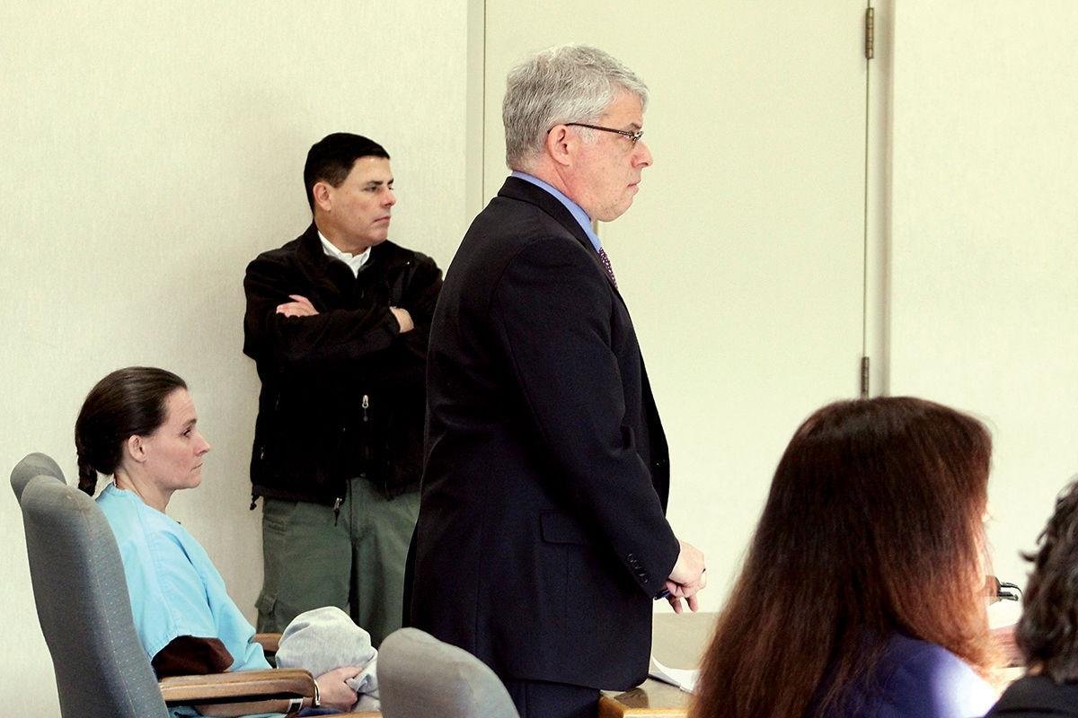 Angela Auclair and her attorney Robert Sussman