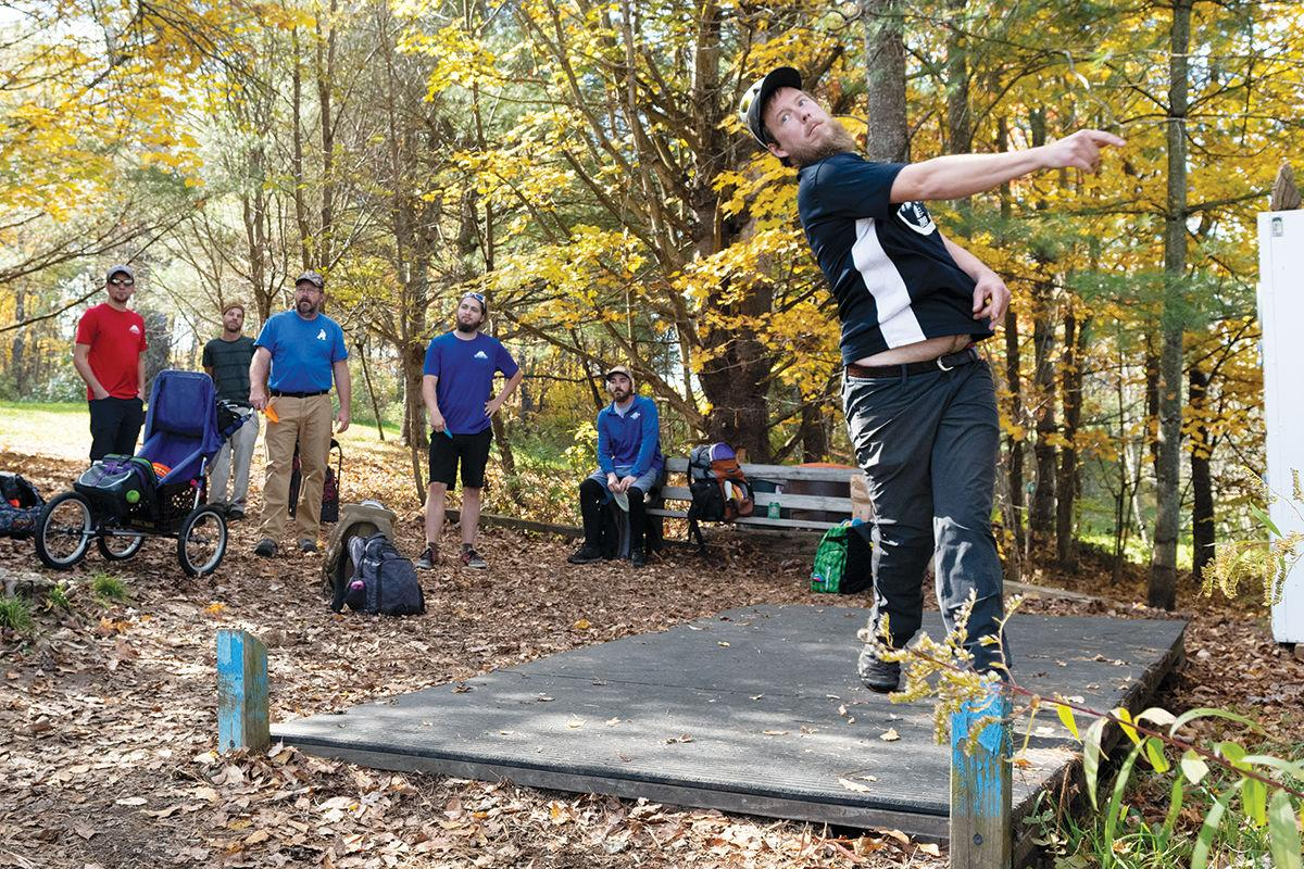Center Chains disc golf course