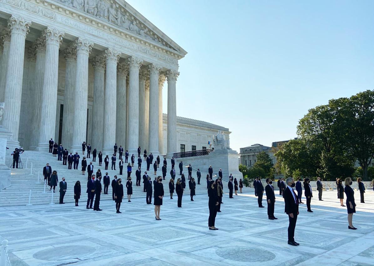 Clerks of Justice Ruth Bader Ginsburg