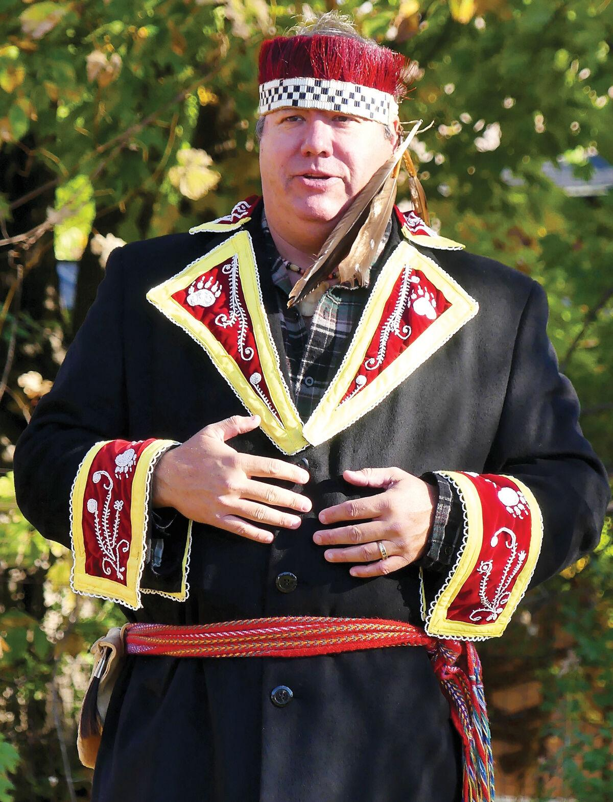 Chief Don Stevens speaks on Indigenous Peoples' Day