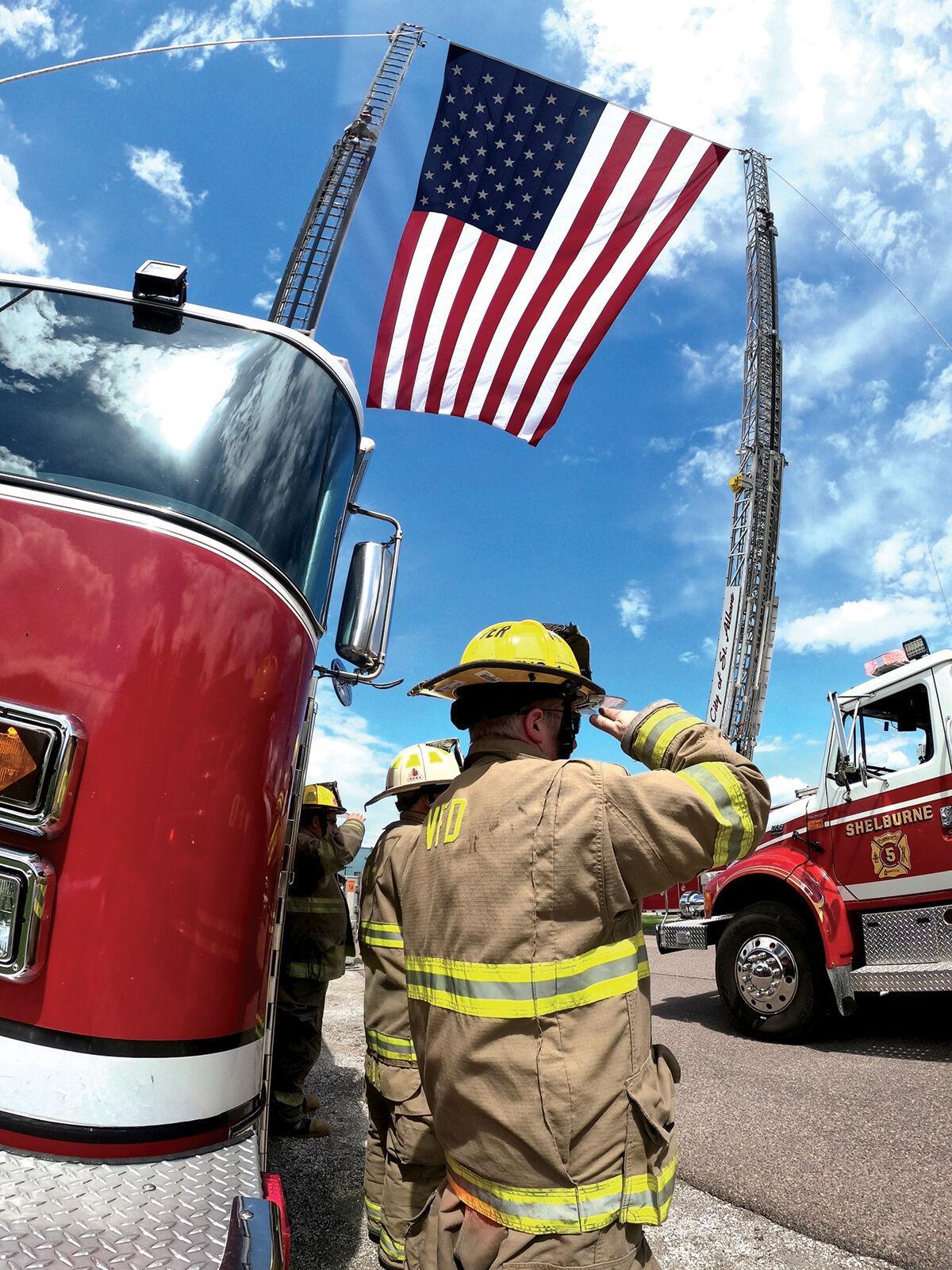 Shelburne celebrates fallen firefighter
