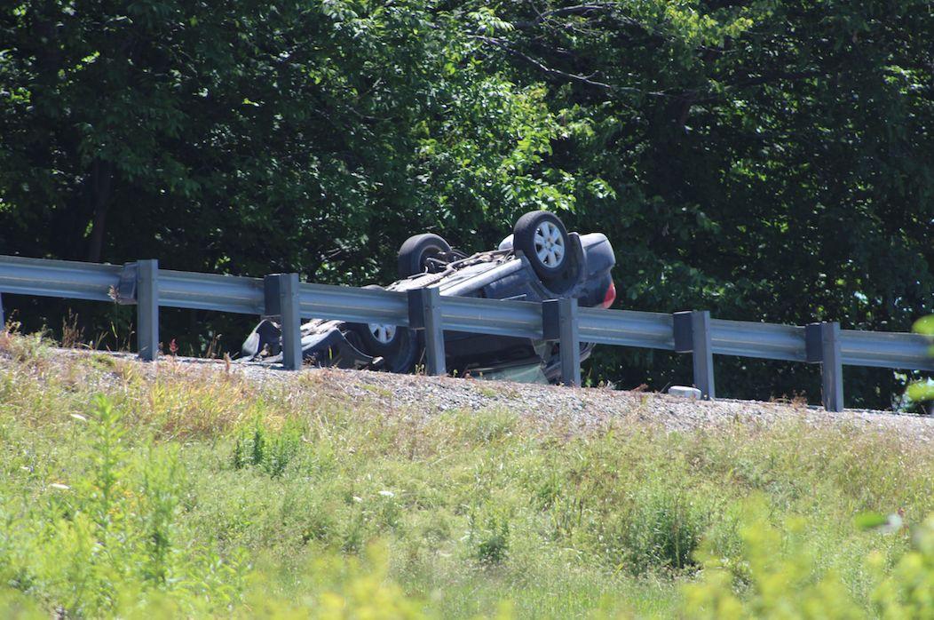 Car crash on Route 12
