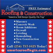 America Roofing & Construction | Home & Commercial Renovation | Waco TX