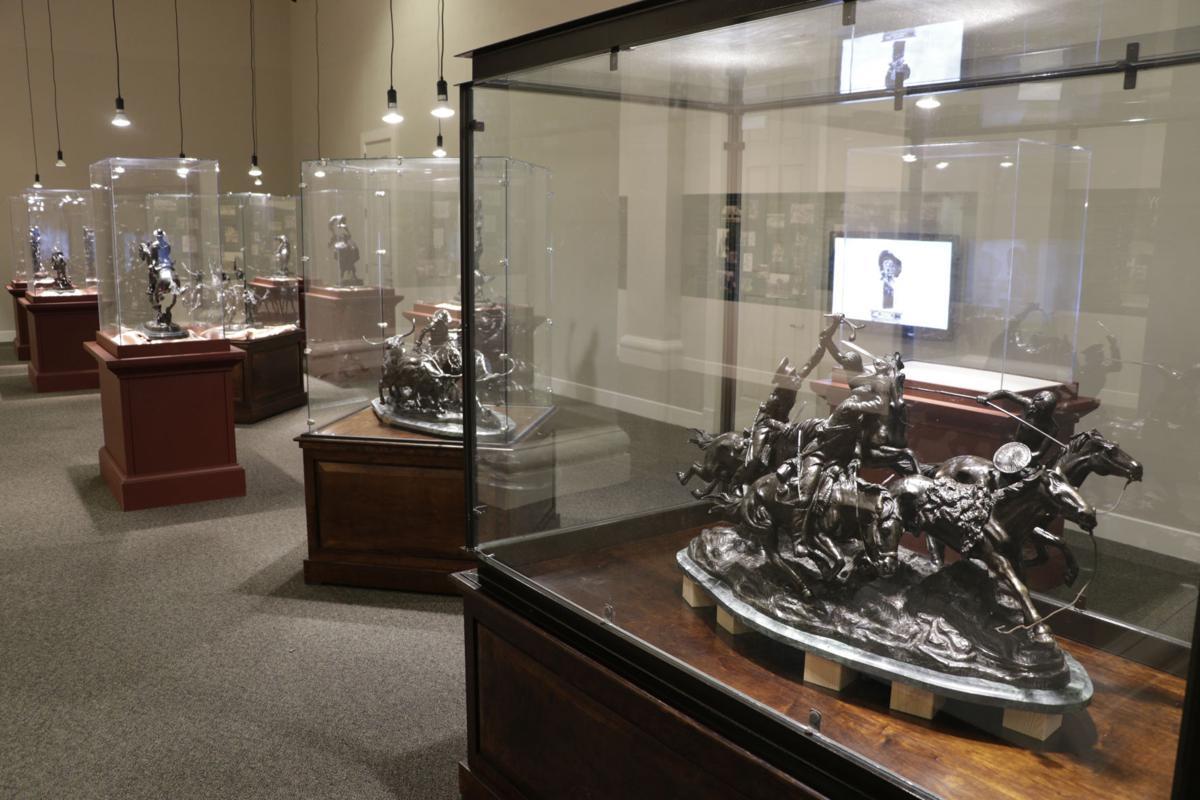 Frederic Remington bronzes