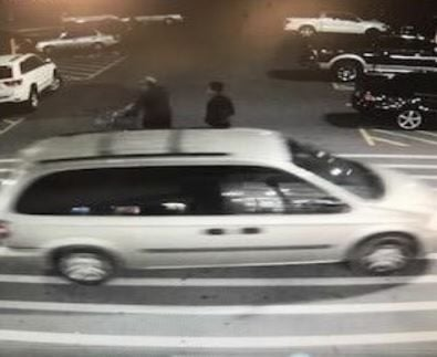Hewitt suspect car