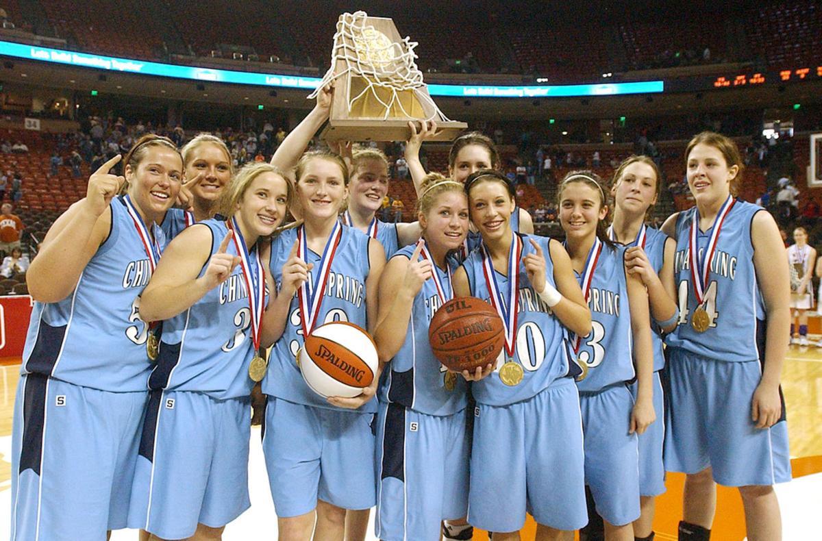 China Spring 2006 State basketball win.