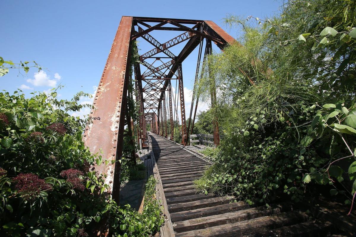 Cotton Belt railroad bridge