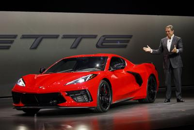 The Corvette gets radical makeover as stick shift makes way for touchscreen