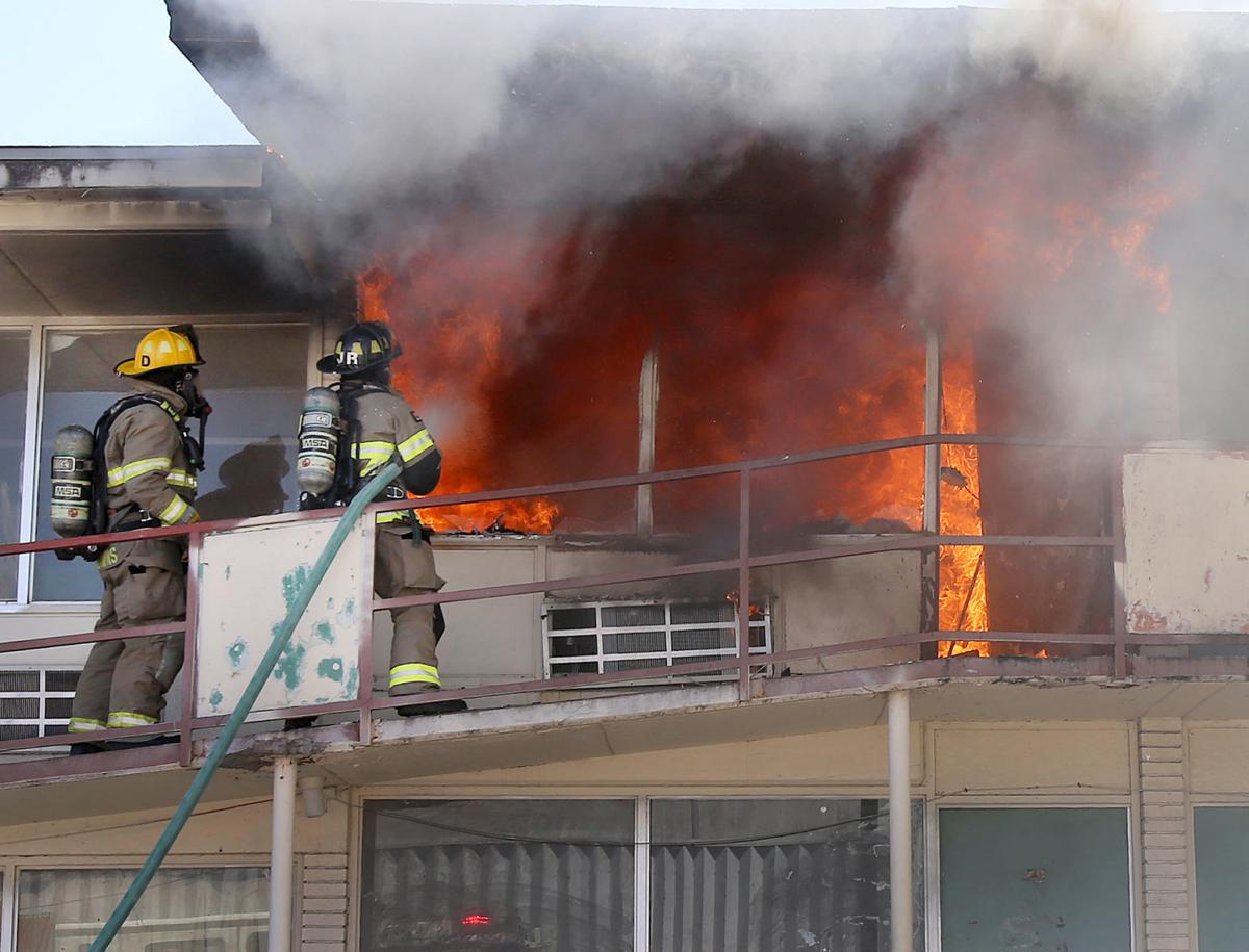Arson suspect arrested in downtown motel blaze | Local News ...
