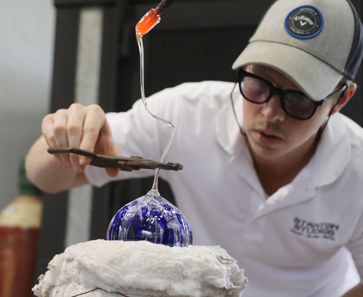 ornaments hot cp - glassblower