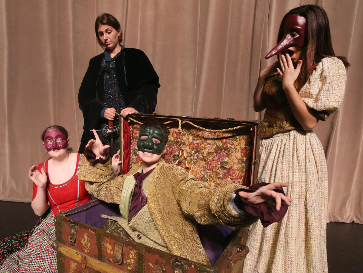 """McLennan Theatre's """"The Servant of Two Masters"""""""