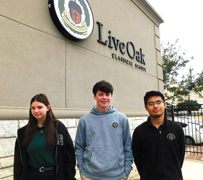 Live Oak National Merit kids
