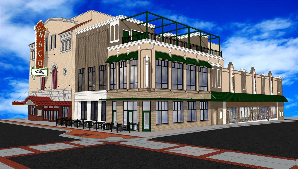 Hippodrome expansion rendering