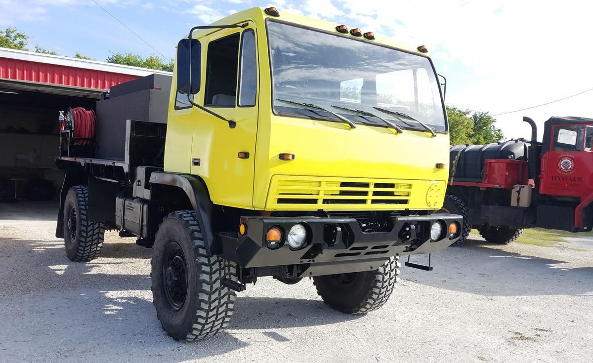 Speegleviille new fire truck