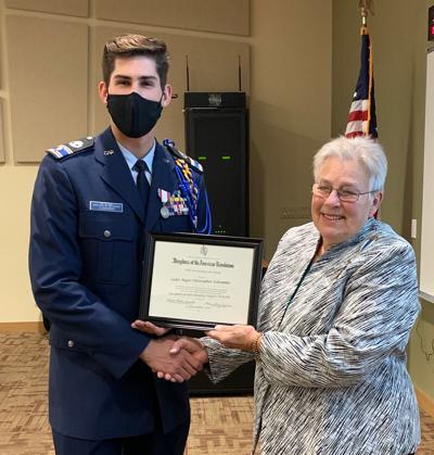 DAR cadet award