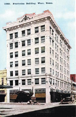 Lofty ambitions: Praetorian Building in downtown Waco entering 2nd century
