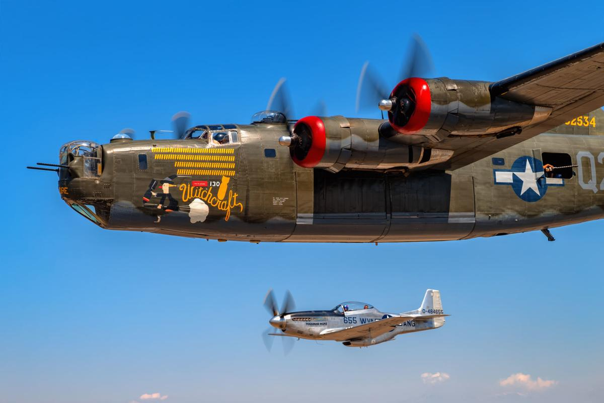 Air show brings wwii planes to fans festivals for Airplane show