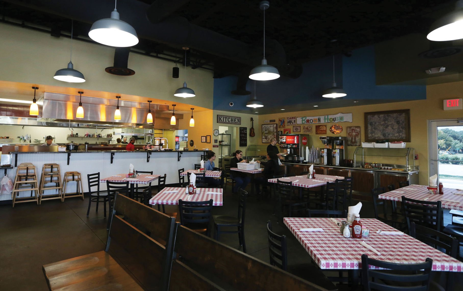 Brown House Caf finds new home