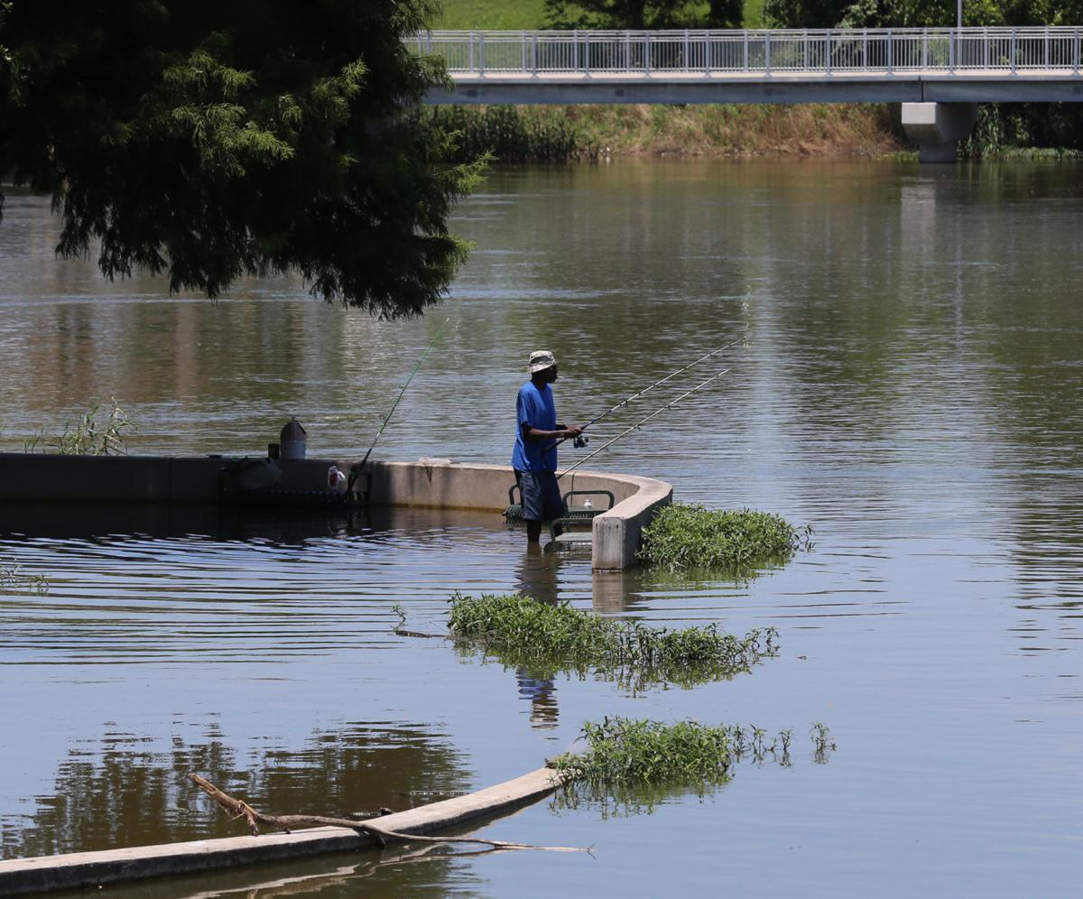 Brazos River levels