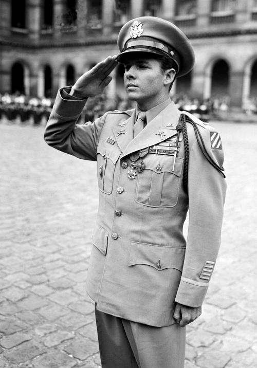 Baylor Historians Audie Murphy Biography Explores WWII Heros PTSD - Audie's grocery store