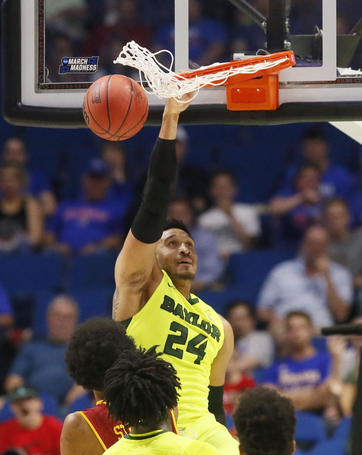 NCAA USC Baylor Basketball