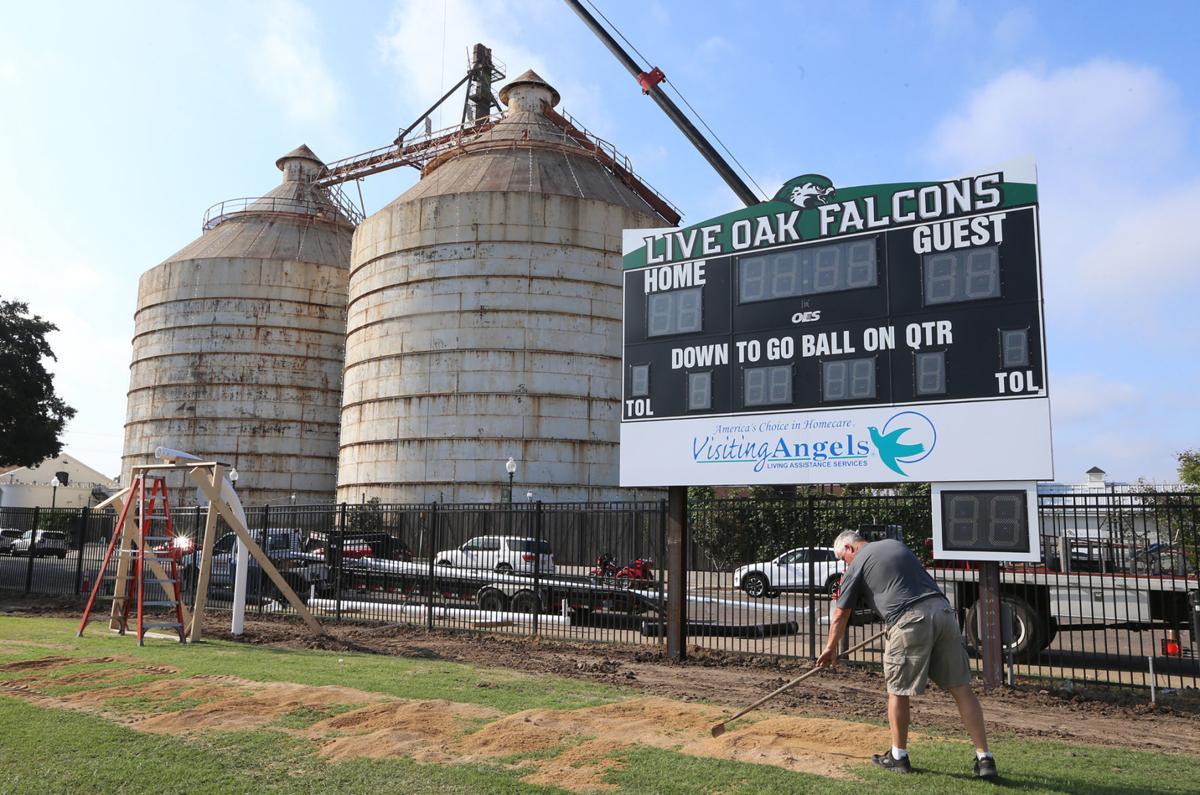 Live Oak new football field