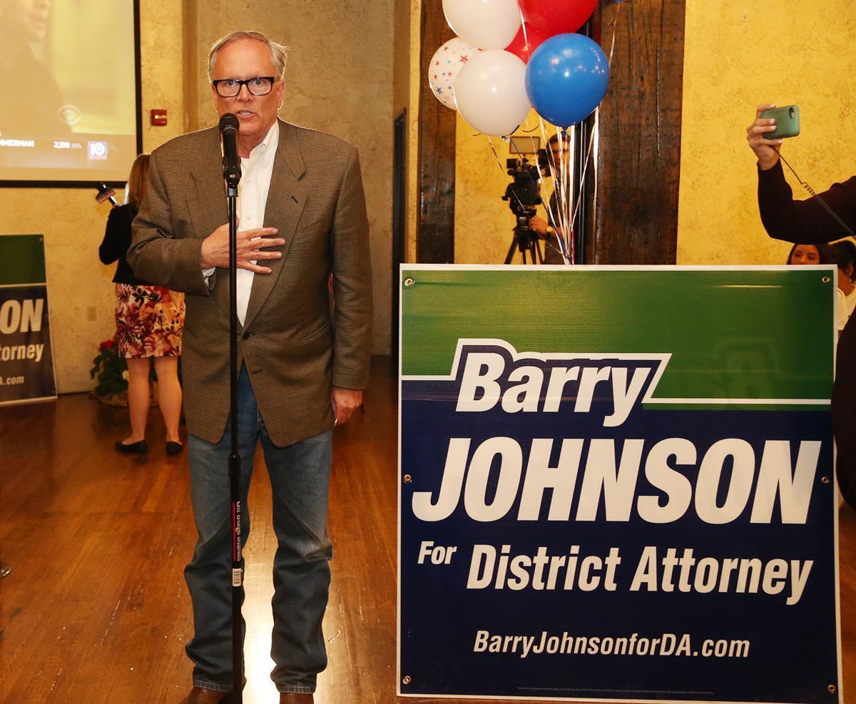 Johnson ousts Reyna in DA race | Elections | wacotrib com