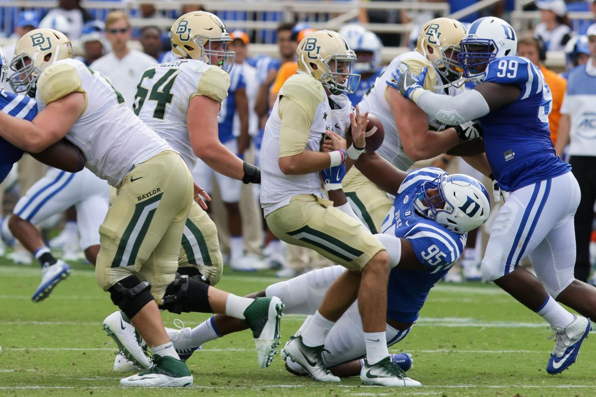 COLLEGE FOOTBALL: SEP 16 Baylor at Duke