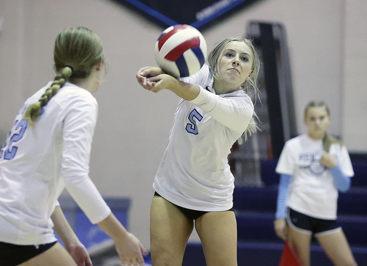 Bishop Reicher volleyball