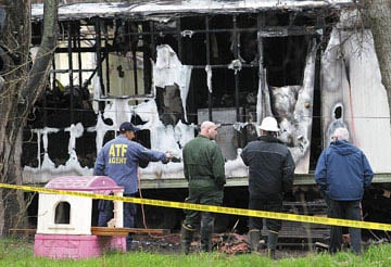 Arson cause of Waco fire that killed 2 children, marshals say