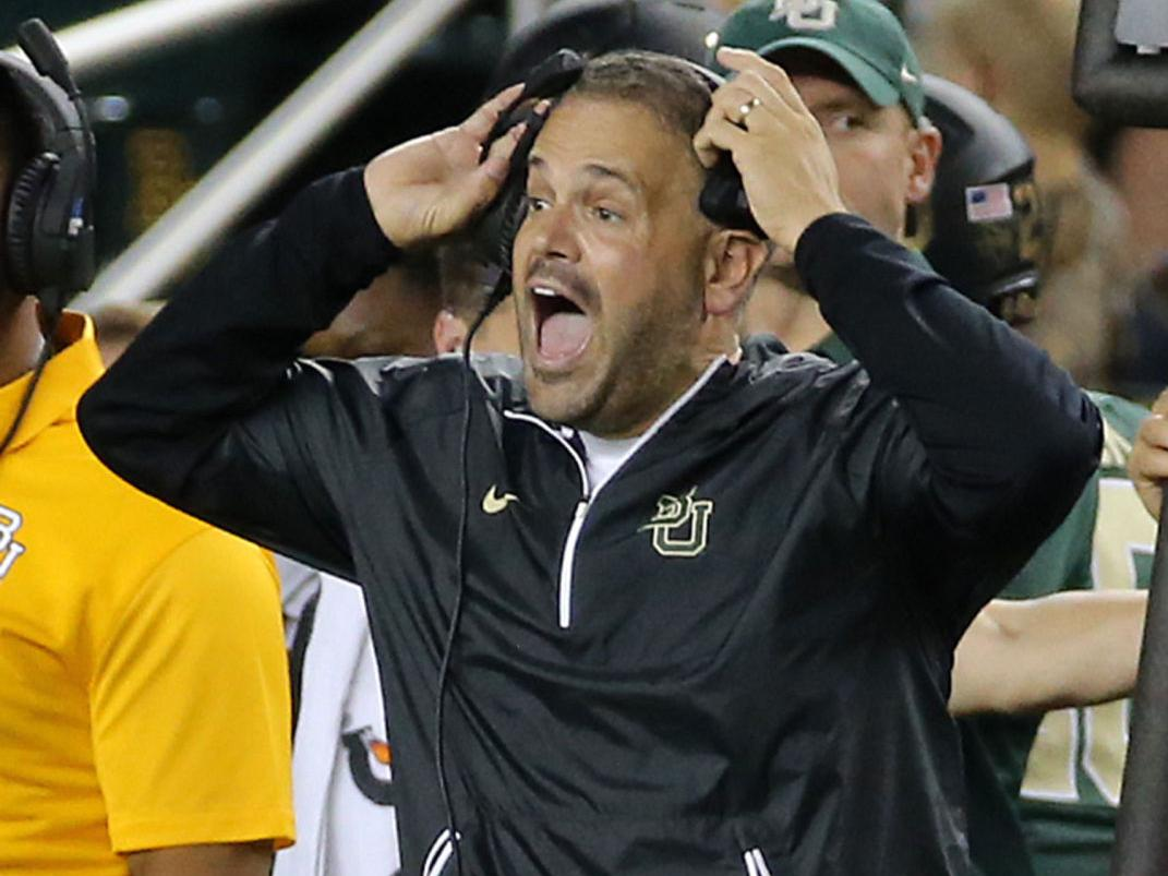 Rhule concerned about winless Bears' psyche