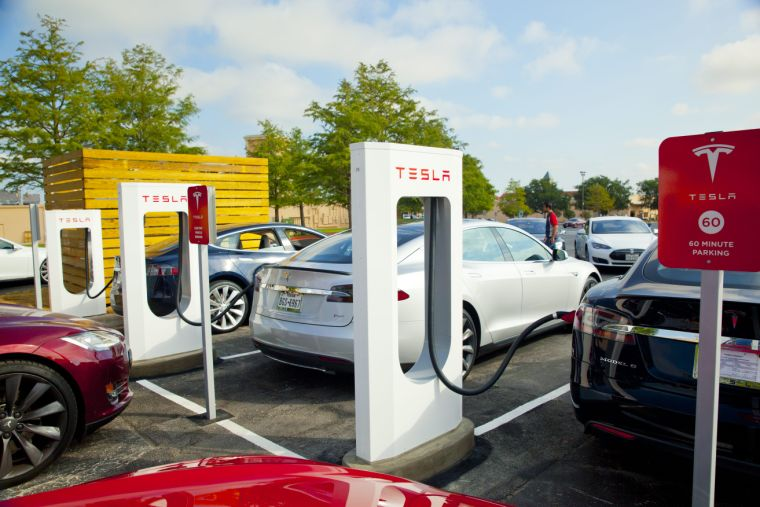 Tesla charging stations in texas
