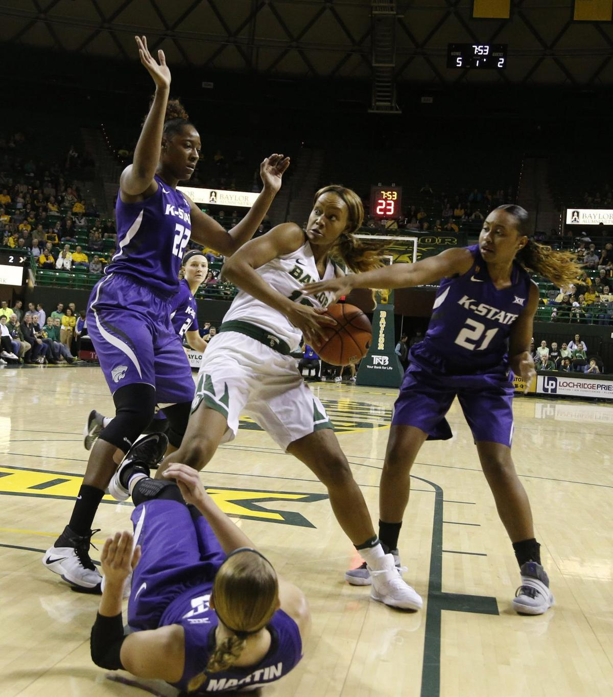 No  3 Lady Bears rout Kansas State in Big 12 opener, 87-57 | Lady