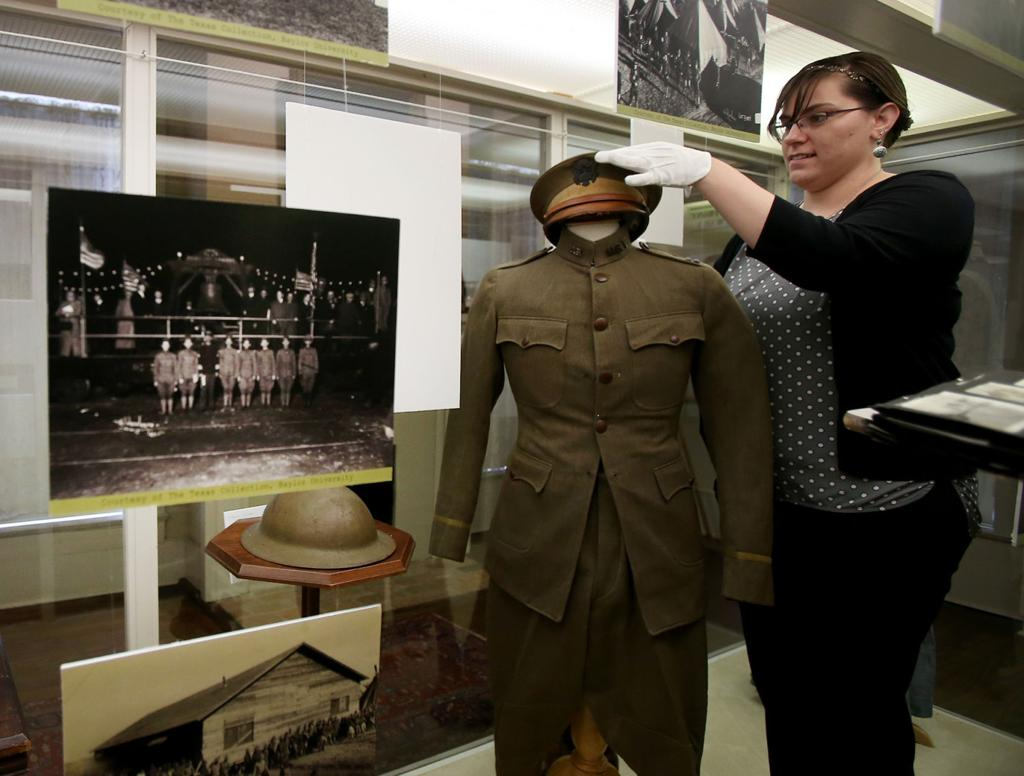 Exhibits bring WWI in Waco, Texas to light   Local News