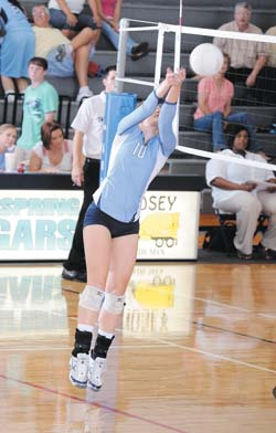 2010 SUPER CENTEX VOLLEYBALL TEAM: Move-in made mark at China Spring