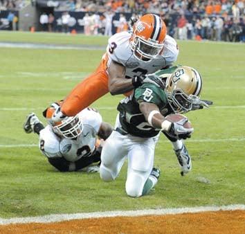 Baylor's season ends in thud at Texas Bowl, 38-14