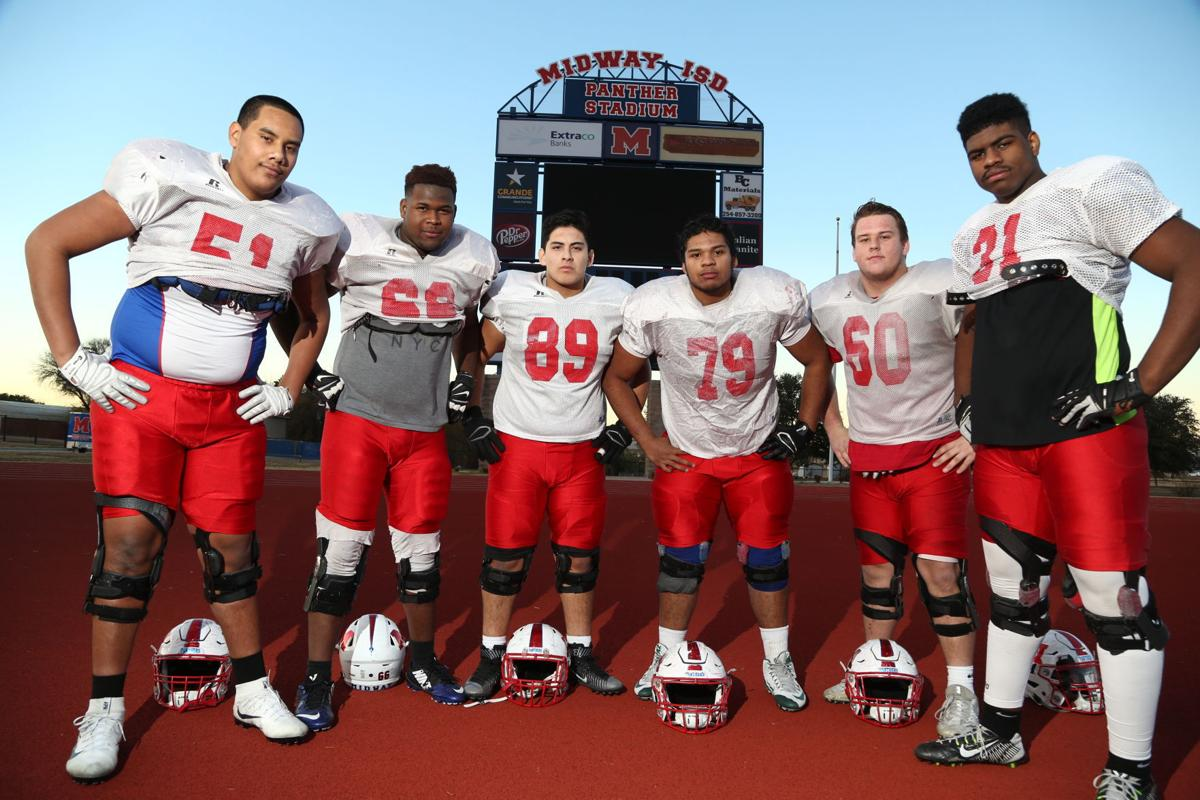 Midway offensive line
