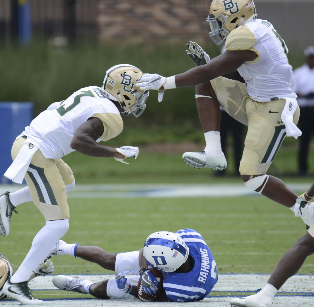 Baylor Football At Duke Sept 16 2017 Photos Baylor Sports