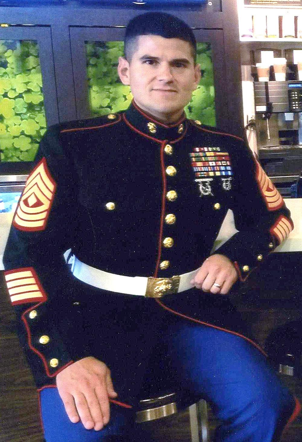 connally grad promoted to marine sergeant major community news