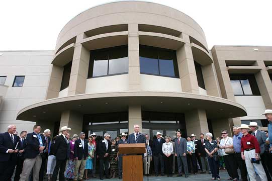 Texas Farm Bureau shows off new Waco complex, built to withstand the