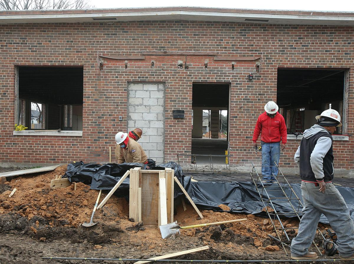 art center construction work