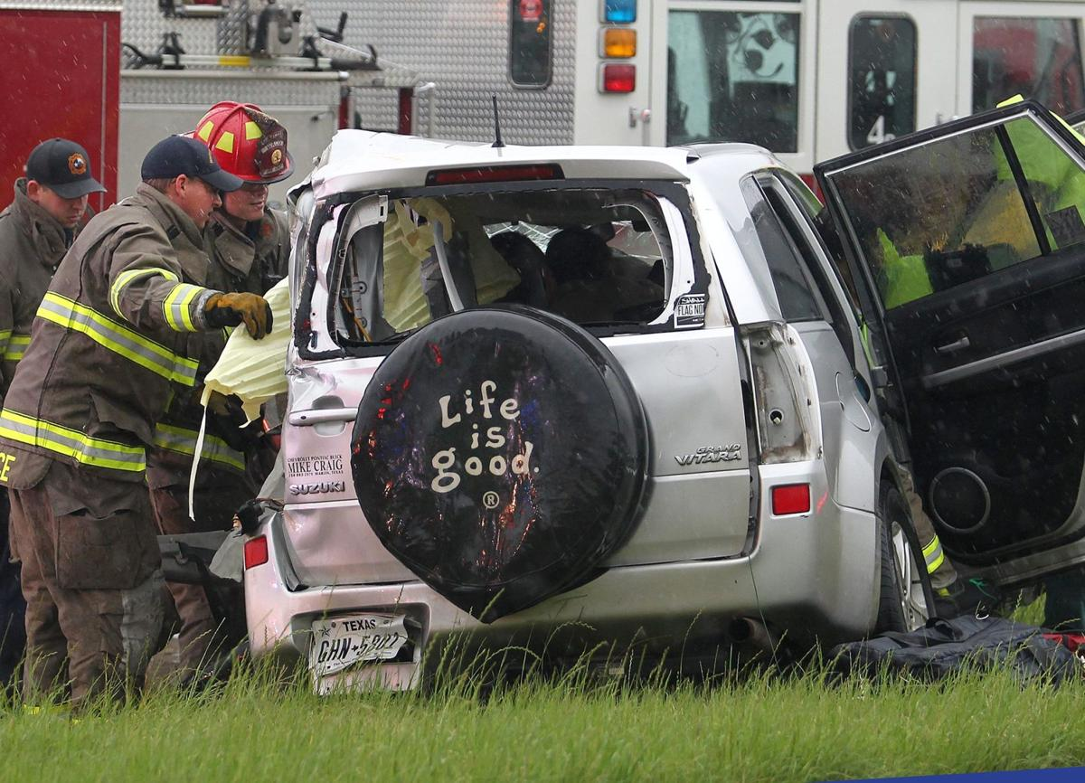 Crash temporarily closes I-35 after heavy rain | Traffic