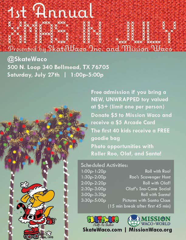 Christmas Fundraiser Catalog.Christmas In July Fundraiser For Mission Waco Fundraisers