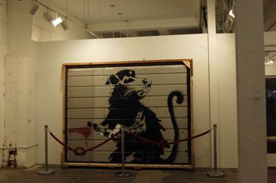 Banksy - Haight Street Rat