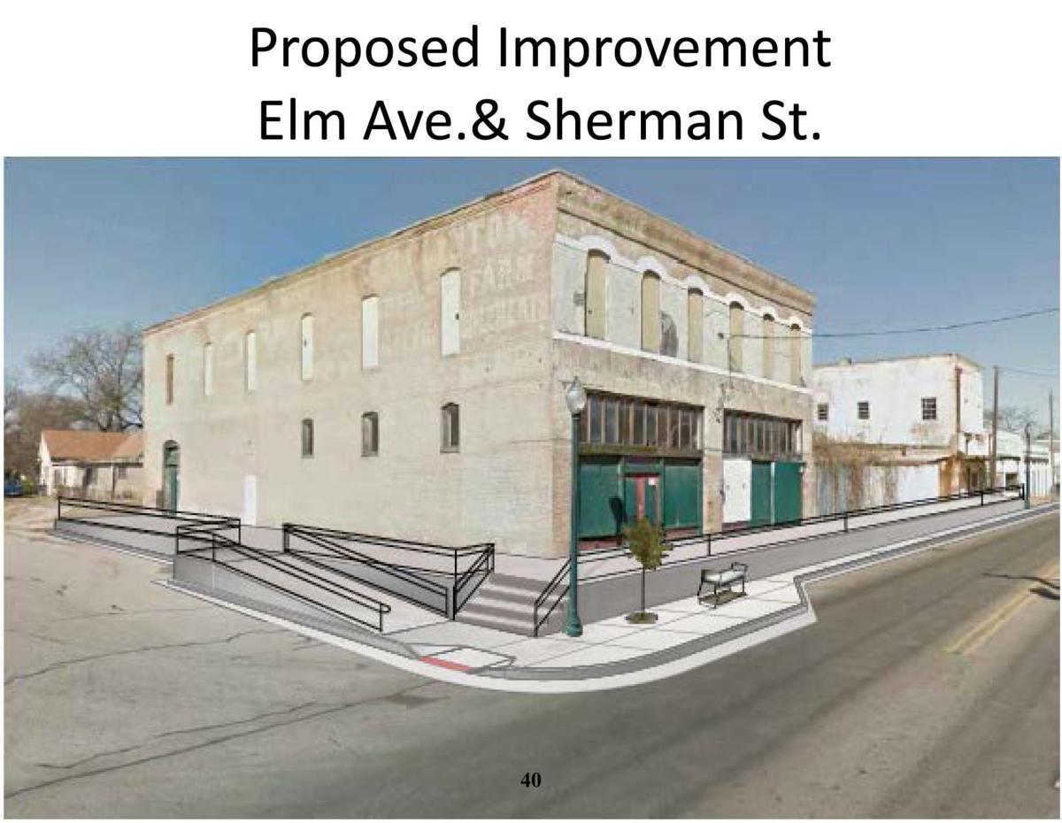 Elm Avenue sidewalks