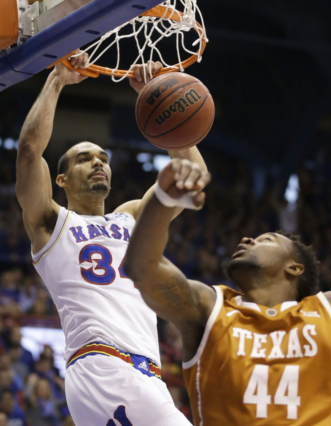 72b8c9d5ced Kansas forward Perry Ellis averaged 13.8 points and 6.9 rebounds last  season. The Jayhawks have won or tied for 11 straight Big 12 titles.