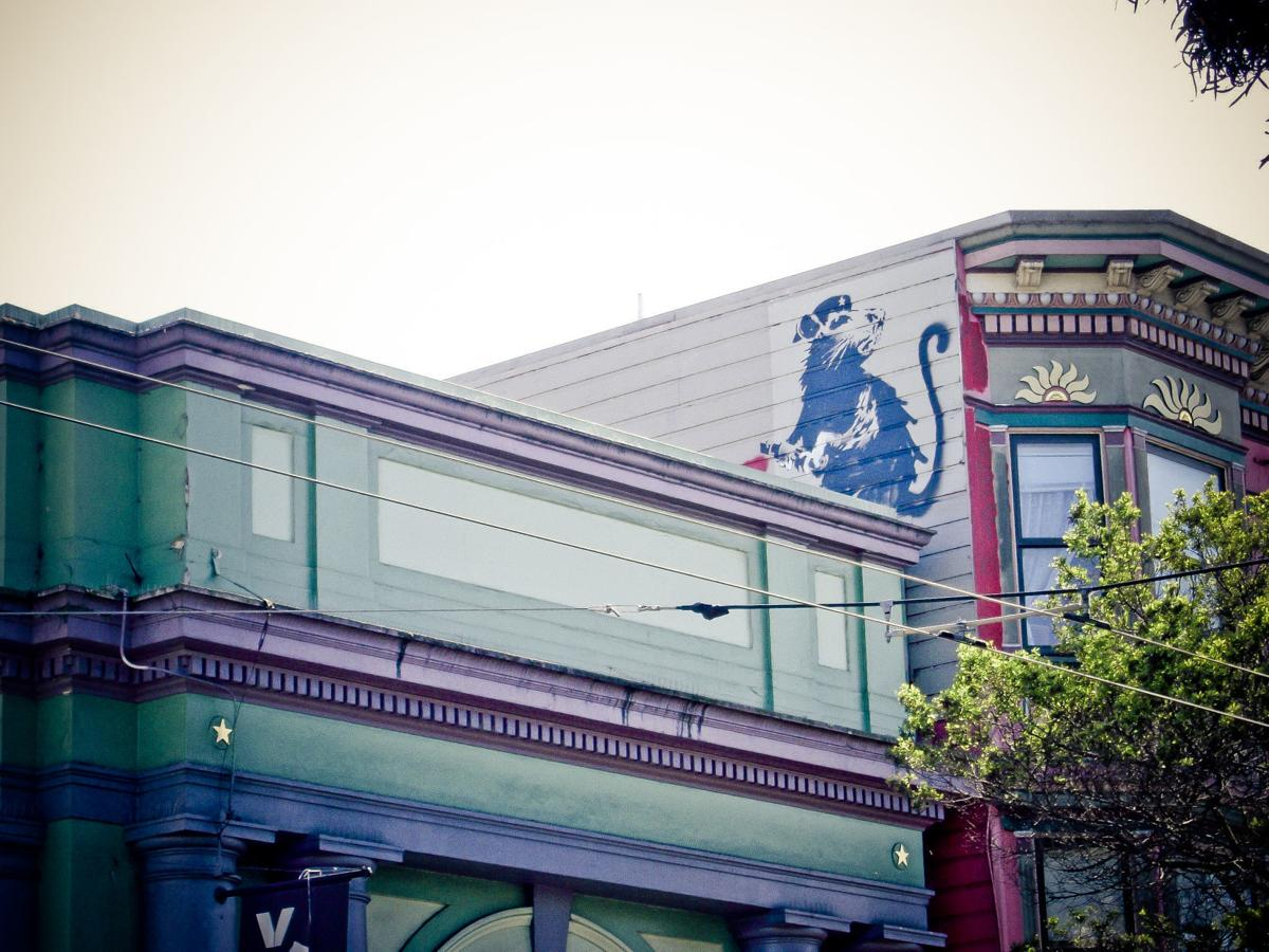 Banksy roof  (copy)